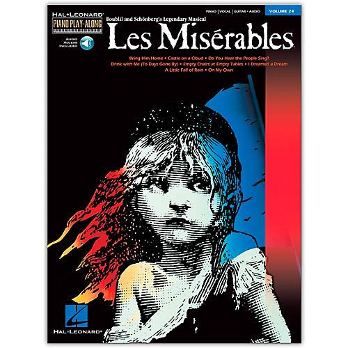 Hal Leonard Les Miserables Volume 24  Piano Play-Along (Book/Online Audio)-thumbnail