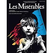 Hal Leonard Les Miserables arranged for piano, vocal, and guitar (P/V/G)