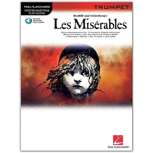 Hal Leonard Les Miserables for Trumpet - Instrumental Play-Along Book/Online Audio