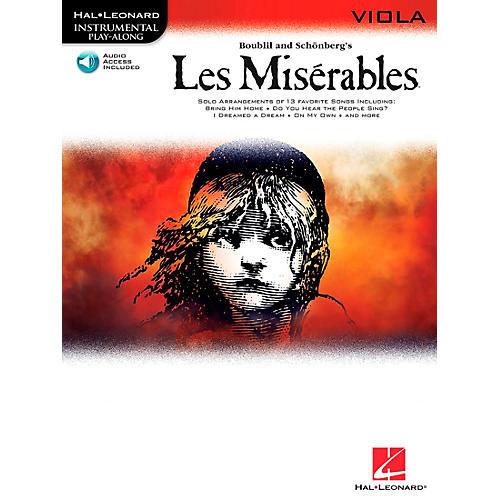 Hal Leonard Les Miserables for Viola - Instrumental Play-Along Book/CD