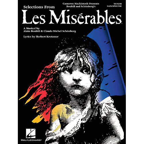 Hal Leonard Les Misérables (Instrumental Solos for Tenor Sax) Instrumental Solo Series Book