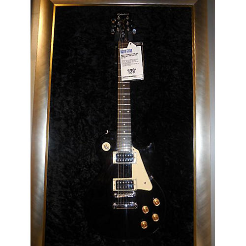 Epiphone Les Paul 100 Ebony Solid Body Electric Guitar-thumbnail