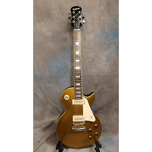 Epiphone Les Paul 1956 Gold Top P90S Solid Body Electric Guitar-thumbnail