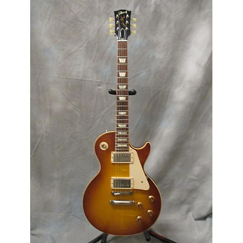 Gibson Les Paul 1958 VOS R8 Iced Tea Solid Body Electric Guitar-thumbnail