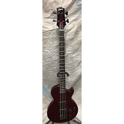 Gibson Les Paul Bass Electric Bass Guitar Wine Red