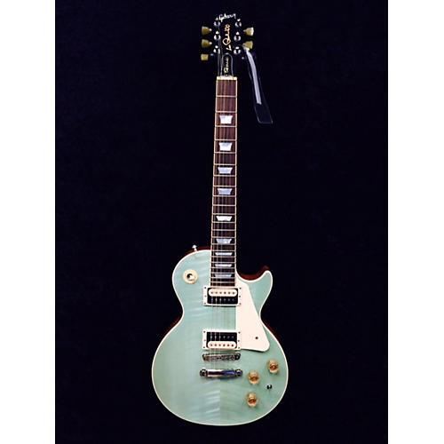 Gibson Les Paul Classic Seafoam Green Solid Body Electric Guitar