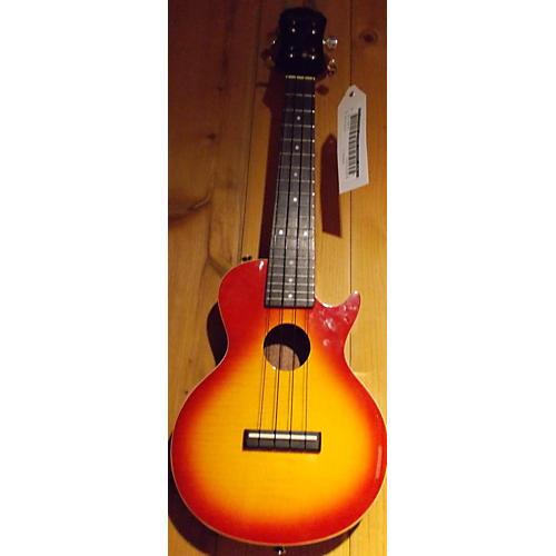 Epiphone Les Paul Concert Heritage Cherry Sunburst Acoustic Electric Ukulele-thumbnail