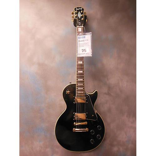 Epiphone Les Paul Custom Black Solid Body Electric Guitar-thumbnail