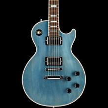 Les Paul Custom Mahogany Top Electric Guitar TV Pelham Blue