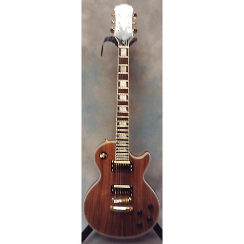 les paul custom pro koa solid body electric guitar guitar center. Black Bedroom Furniture Sets. Home Design Ideas