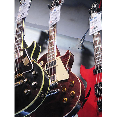 Gibson Les Paul Custom Pro Solid Body Electric Guitar root beer