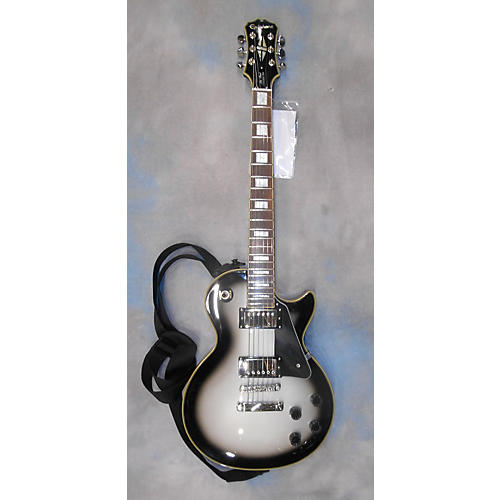 Epiphone Les Paul Custom Pro Solid Body Electric Guitar Silverburst
