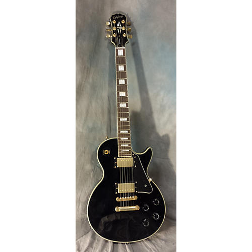Epiphone Les Paul Custom Solid Body Electric Guitar Black