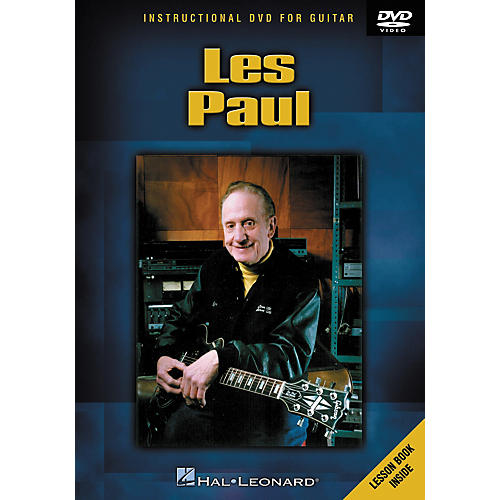 Hal Leonard Les Paul (DVD)-thumbnail