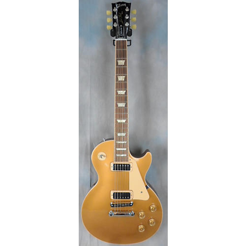 Gibson Les Paul Deluxe Gold Top Solid Body Electric Guitar