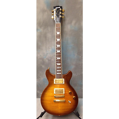 Gibson Les Paul Double Cutaway Plus Top Solid Body Electric Guitar