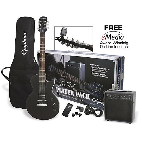 Epiphone Les Paul Electric Guitar Player Pack-thumbnail