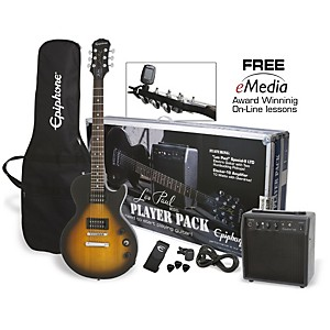 Epiphone Les Paul Electric Guitar Player Pack