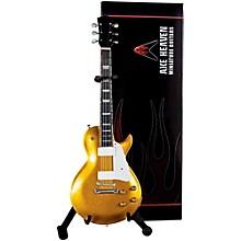 Axe Heaven Les Paul Goldtop Miniature Guitar Replica Collectible