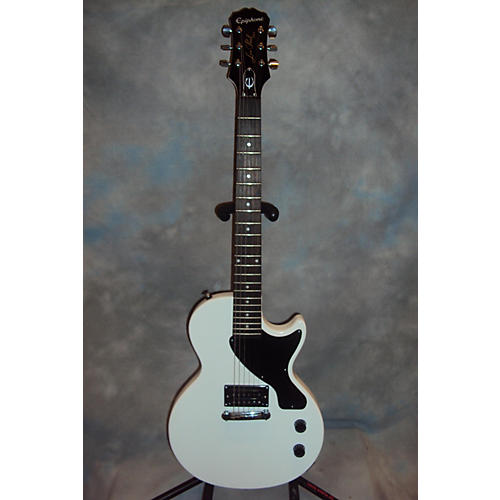 Epiphone Les Paul Jr White Solid Body Electric Guitar