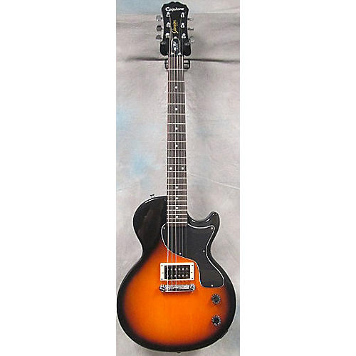 Epiphone Les Paul Junior Single Cut Sunburst Solid Body Electric Guitar-thumbnail