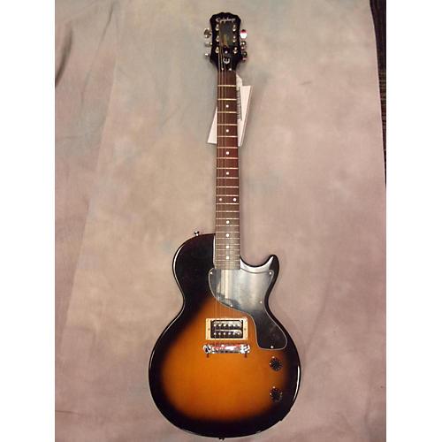 Epiphone Les Paul Junior Single Cut Vintage Sunburst Solid Body Electric Guitar-thumbnail