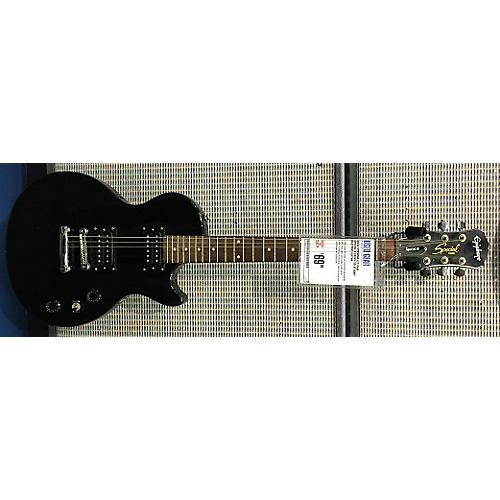 Epiphone Les Paul Special II Ebony Solid Body Electric Guitar-thumbnail