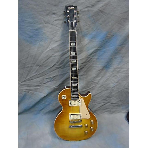 Gibson Les Paul Standard Faded Honey Burst Solid Body Electric Guitar-thumbnail