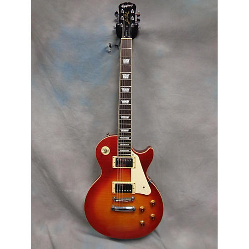 Epiphone Les Paul Standard Heritage Cherry Sunburst Solid Body Electric Guitar-thumbnail