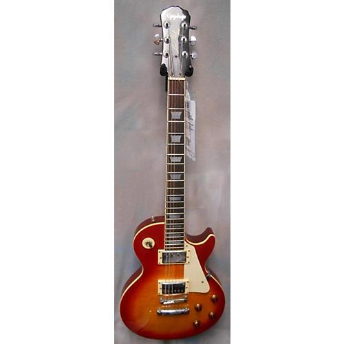 Epiphone Les Paul Standard Plain Top Solid Body Electric Guitar-thumbnail