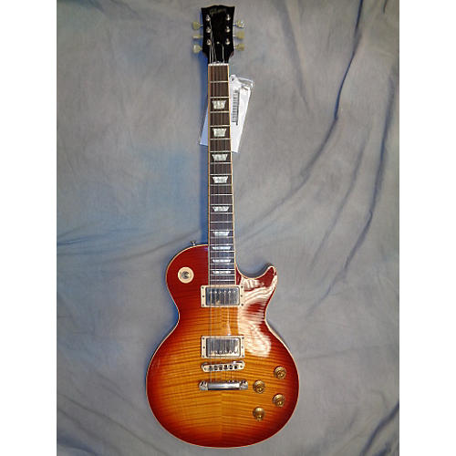 Gibson Les Paul Standard Premium Plus 1950S Neck Heritage Cherry Burst Solid Body Electric Guitar