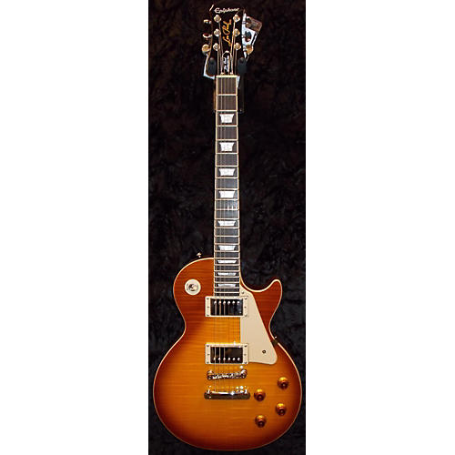 Epiphone Les Paul Standard Pro Plus Top Solid Body Electric Guitar-thumbnail