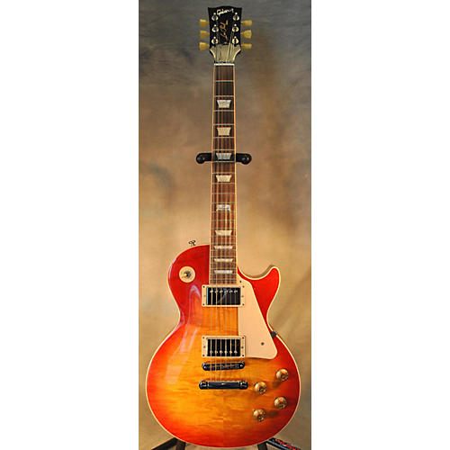 Gibson Les Paul Standard Traditional Heritage Cherry Sunburst Solid Body Electric Guitar-thumbnail
