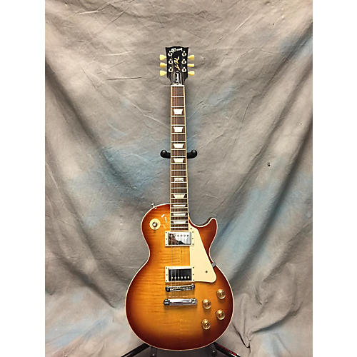Gibson Les Paul Standard Traditional Honey Burst Solid Body Electric Guitar-thumbnail