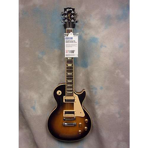 Gibson Les Paul Standard Traditional Pro Sunburst Solid Body Electric Guitar-thumbnail