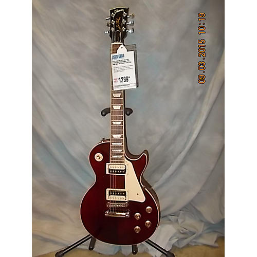 Gibson Les Paul Standard Traditional Pro Wine Red Solid Body Electric Guitar Wine Red