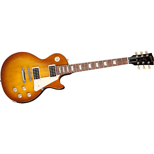 Gibson Les Paul Studio 50's Tribute Electric Guitar with Humbucker Pickups Satin Honeyburst
