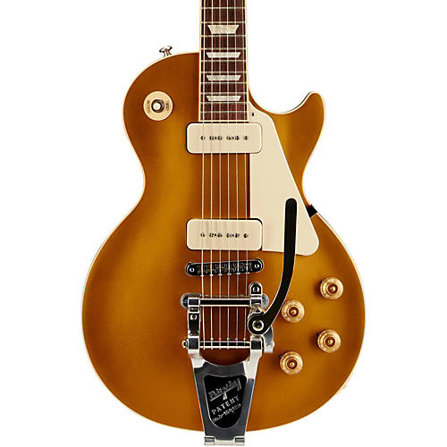 Gibson Les Paul Traditional Gold Top Electric Guitar with P90s