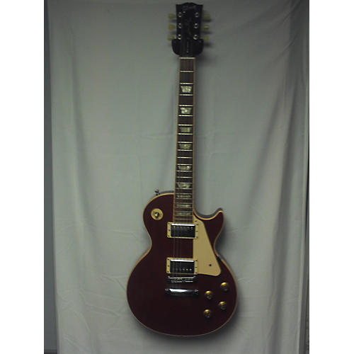 used gibson les paul traditional mahogany top solid body electric guitar satin cherry guitar. Black Bedroom Furniture Sets. Home Design Ideas