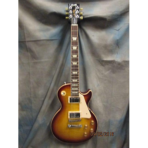 Gibson Les Paul Traditional Plus Solid Body Electric Guitar-thumbnail