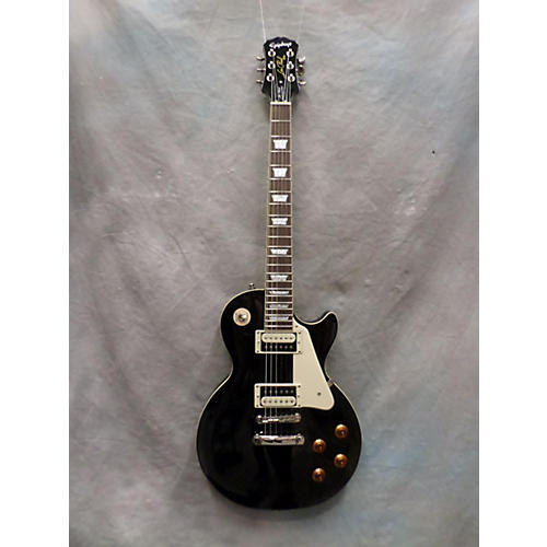 Epiphone Les Paul Traditional Pro Black Solid Body Electric Guitar