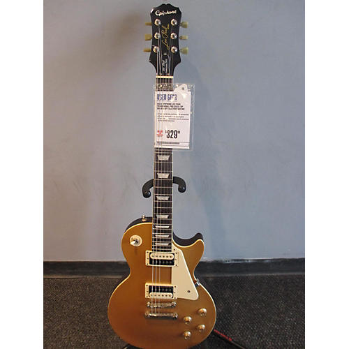Epiphone Les Paul Traditional Pro Gold Top Solid Body Electric Guitar