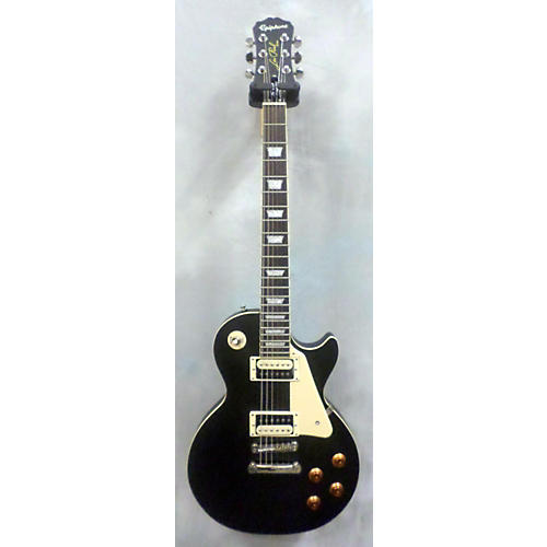 Epiphone Les Paul Traditional Pro Satin Black Solid Body Electric Guitar