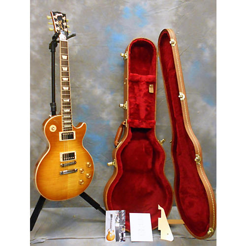 Gibson Les Paul Traditional Solid Body Electric Guitar Honey Burst