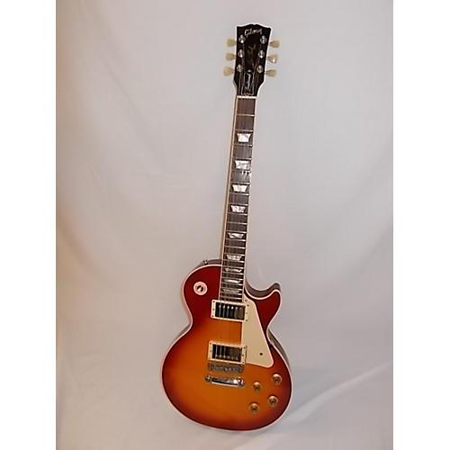 used gibson les paul traditional solid body electric guitar 2 color sunburst guitar center. Black Bedroom Furniture Sets. Home Design Ideas