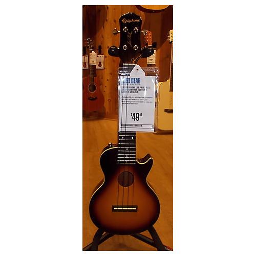 Epiphone Les Paul Uke 2 Color Sunburst Acoustic Electric Ukulele-thumbnail