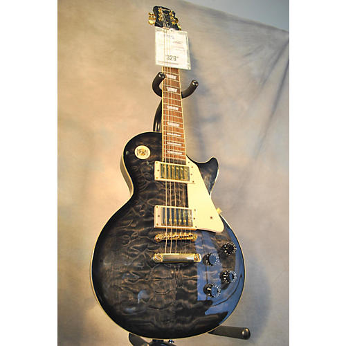 Epiphone Les Paul Ultra Trans Charcoal Solid Body Electric Guitar