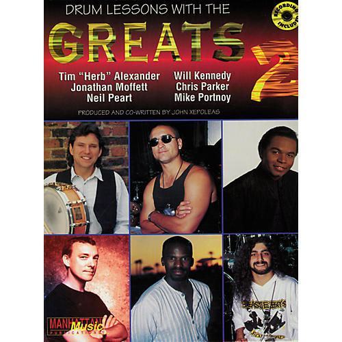 Alfred Lessons with the Greats - Drums (2 CDs)