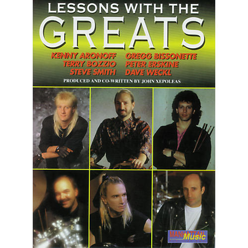 Alfred Lessons with the Greats - Drums-thumbnail