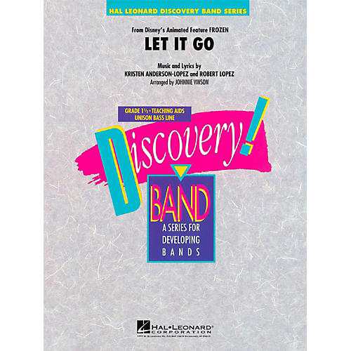 Hal Leonard Let It Go (From Frozen) Discovery Concert Band Level 1.5